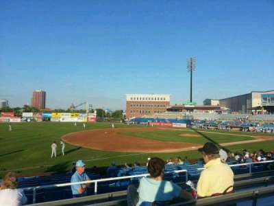 Frawley Stadium, section: o, row: 6, seat: 22