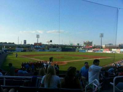 Frawley Stadium, section: g, row: 4, seat: 2
