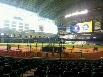 Minute Maid Park, section: 119, row: 12, seat: 1