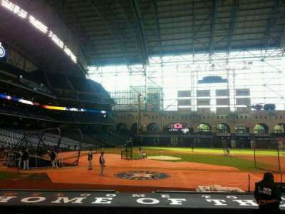Minute Maid Park, section: 124, row: 12, seat: 11