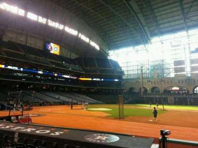 Minute Maid Park, section: 126, row: 11, seat: 12