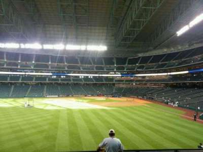 Minute Maid Park, section: 101, row: 7, seat: 8