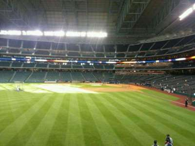 Minute Maid Park, section: 102, row: 2, seat: 1