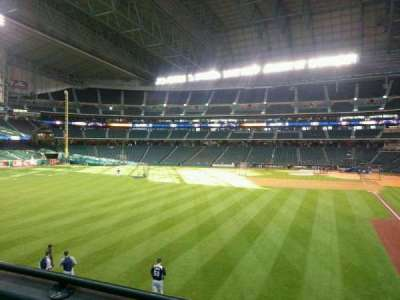 Minute Maid Park, section: 103, row: 2, seat: 15