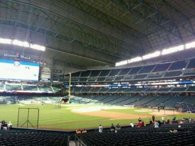 Minute Maid Park, section: 108, row: 27, seat: 1