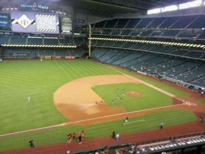 Minute Maid Park, section: 310, row: 2, seat: 18