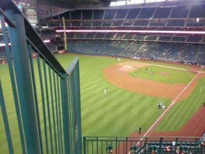 Minute Maid Park, section: 305, row: 4, seat: 1