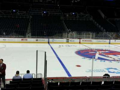 Barclays Center, section: 8, row: 11, seat: 16