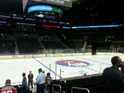 Barclays Center, section: 9, row: 13, seat: 3