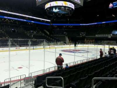 Barclays Center, section: 10, row: 7, seat: 3