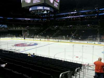 Barclays Center, section: 22, row: 13, seat: 8