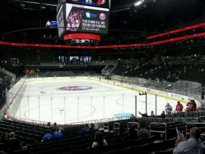 Barclays Center, section: 17, row: 16, seat: 8