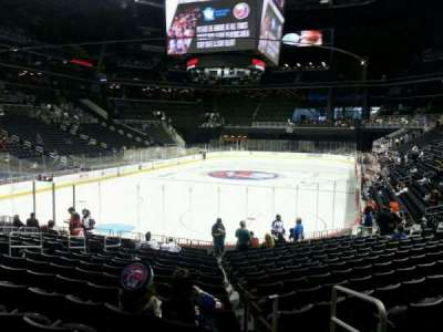 Barclays Center, section: 15, row: 15, seat: 3