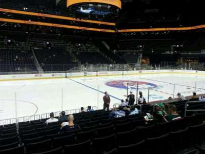 Barclays Center, section: 9, row: 12, seat: 10
