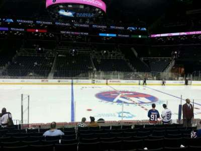 Barclays Center, section: 8, row: 13, seat: 11
