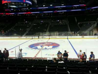 Barclays Center, section: 7, row: 14, seat: 8