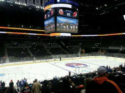Barclays Center, section: 110, row: 3, seat: 4