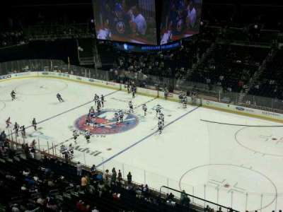 Barclays Center, section: 221, row: 1, seat: 2