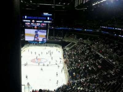 Barclays Center, section: 215, row: 9, seat: 8
