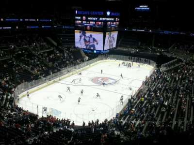 Barclays Center, section: 213, row: 7, seat: 6