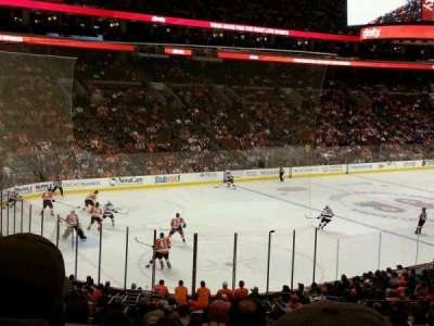 Wells Fargo Center section Club Box 22