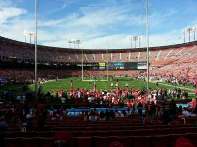 Candlestick Park section 7