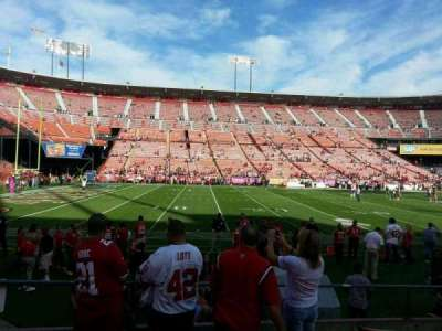 Candlestick Park section 22
