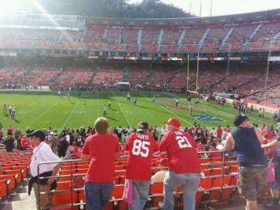 Candlestick Park, section: 37, row: 23, seat: 22