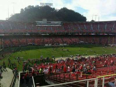 Candlestick Park, section: 37, row: 48, seat: 21