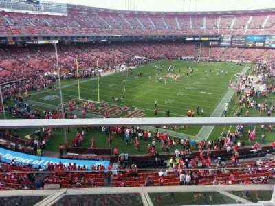Candlestick Park section 17