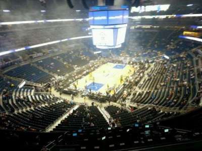 Amway Center, section: 215, row: 2, seat: 4