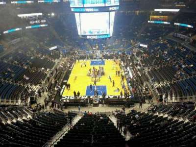 Amway Center, section: 217, row: 1, seat: 6