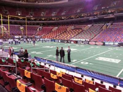 Wells Fargo Center, section: 103, row: 7, seat: 9