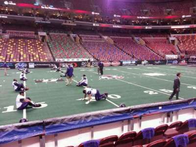 Wells Fargo Center, section: 124, row: 5, seat: 10