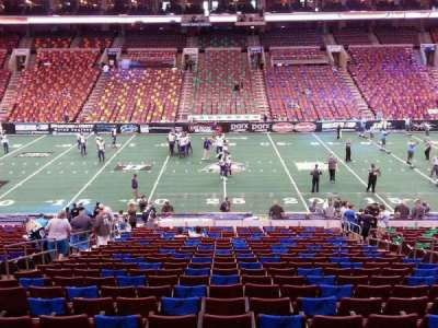 Wells Fargo Center, section: Club Box 1, row: 1, seat: 7