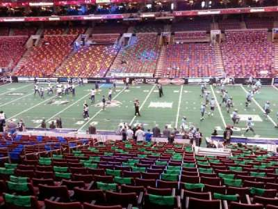 Wells Fargo Center, section: Club Box 2, row: 1, seat: 10