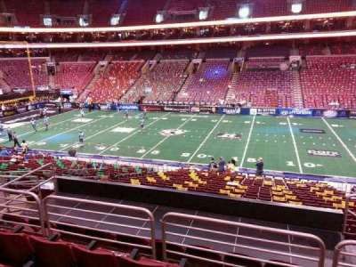 Wells Fargo Center, section: Club Box 14, row: 1, seat: 12