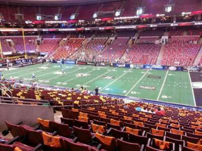 Wells Fargo Center, section: Club Box 15, row: 1, seat: 9