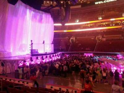 Wells Fargo Center, section: 124, row: 9, seat: 10