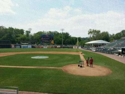 FNB Field, section: 107, row: 5, seat: 5