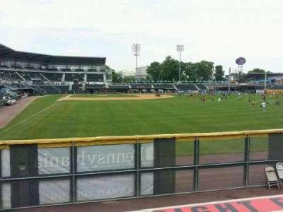 FNB Field, section: RF barstools, row: 1, seat: 20