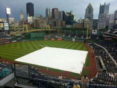 PNC Park, section: 319, row: m, seat: 14