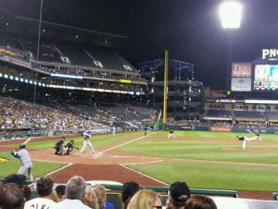PNC Park, section: 13, row: m, seat: 1