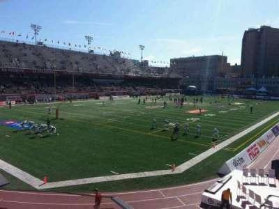 Percival Molson Memorial Stadium, section: n1, row: 5, seat: 1