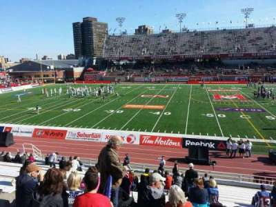 Percival Molson Memorial Stadium, section: g1, row: 18, seat: 18