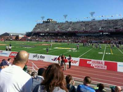 Percival Molson Memorial Stadium, section: d1, row: 6, seat: 16