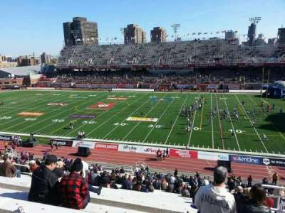 Percival Molson Memorial Stadium, section: d2, row: 5, seat: 17