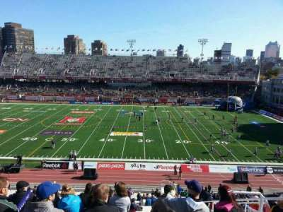 Percival Molson Memorial Stadium, section: e3, row: 5, seat: 13