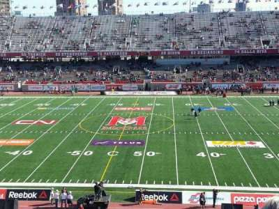 Percival Molson Memorial Stadium, section: f2, row: 4, seat: 15