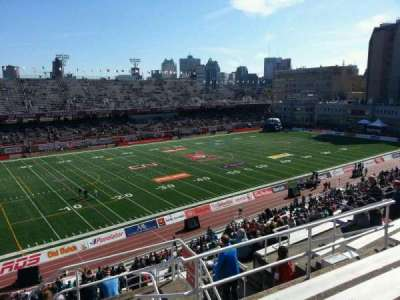Percival Molson Memorial Stadium, section: k2, row: 7, seat: 1